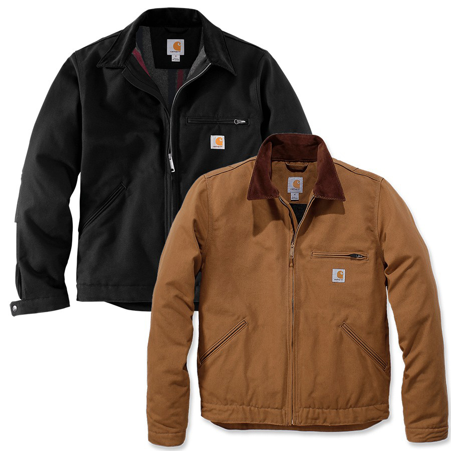 jacke duck detroit carhartt mens shirts jackets herren hemden jacken shirts jackets. Black Bedroom Furniture Sets. Home Design Ideas